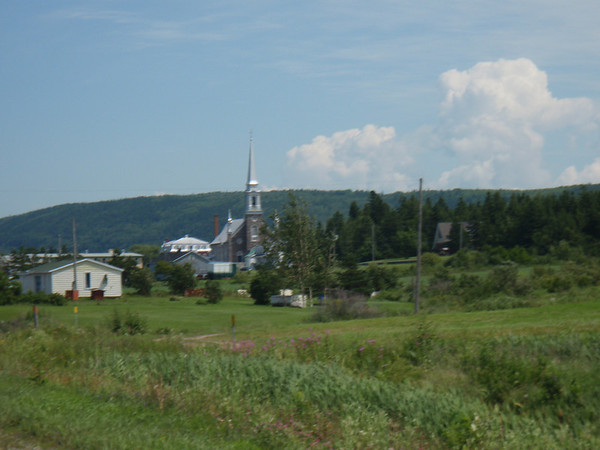 Church in Quebec town